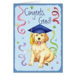 Golden Retriever Graduate Greeting Card