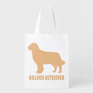Golden Retriever Grocery Bag