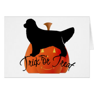 Golden Retriever Halloween Gifts Card