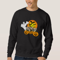 Golden Retriever Halloween Unisex Sweatshirt