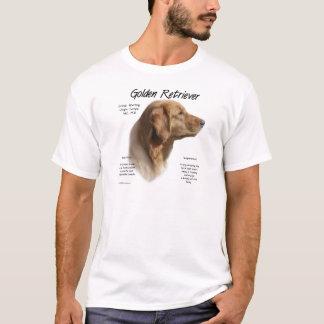 Golden Retriever History Design T-Shirt