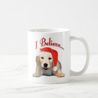 Golden Retriever I Believe Coffee Mug