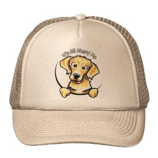 Golden Retriever IAAM Trucker Hat