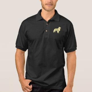 Golden Retriever Im In My Golden Years Polo Shirt