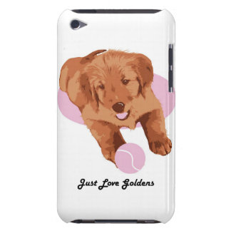 Golden Retriever iPod Touch 4 Case, Love Goldens Barely There iPod Cover