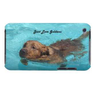 Golden Retriever iPod Touch 4 Case, Love Goldens iPod Touch Case-Mate Case