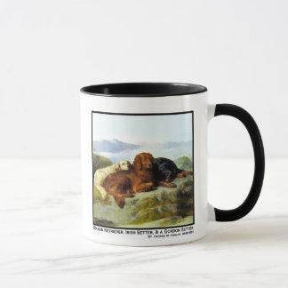Golden Retriever, Irish Setter & Gordon Setter Mug