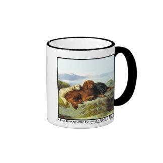 Golden Retriever, Irish Setter & Gordon Setter Ringer Coffee Mug