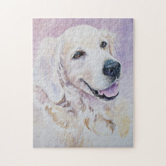 Golden retriever jigsaw puzzle