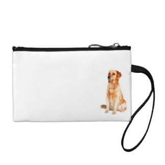 Golden Retriever Key Coin Clutch