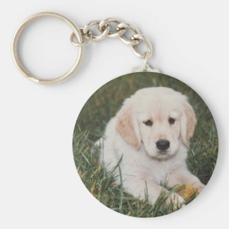 Golden Retriever Keychain Puppy