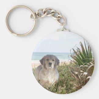 Golden Retriever Keychain Purfect Puppy
