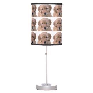 Golden Retriever Lamp, Puppy Desk Lamp