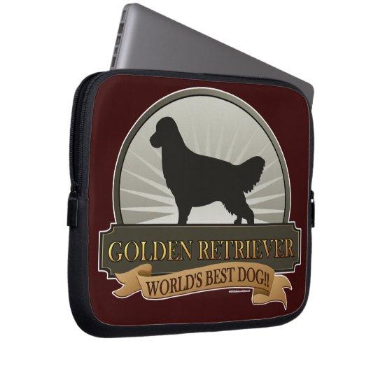Golden Retriever Laptop Sleeve