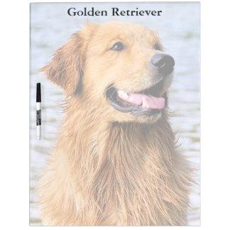 Golden Retriever Large Dry Erase Board