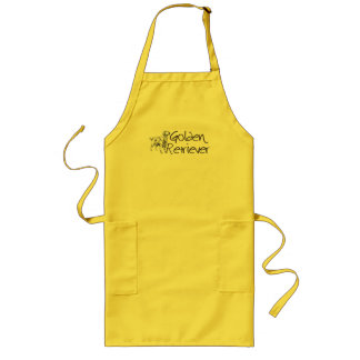 Golden Retriever Long Apron