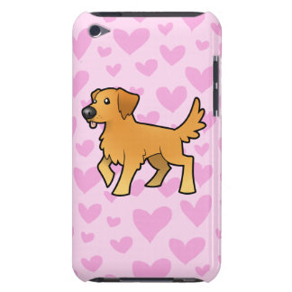 Golden Retriever Love iPod Touch Cover