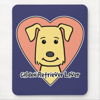 Golden Retriever Lover Mouse Pad