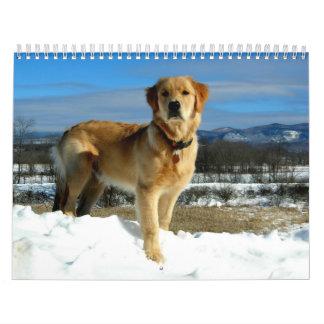 Golden Retriever Lovers Calendar