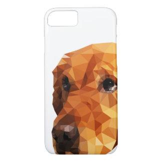 Golden Retriever Low Poly Art iPhone 7 Case