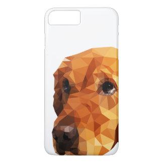 Golden Retriever Low Poly Art iPhone 7 Plus Case