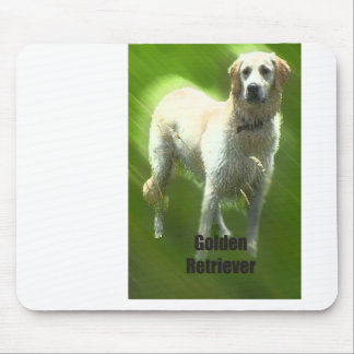 Golden Retriever Marley breed Mouse Pad