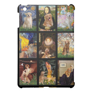 Golden Retriever Masterpiece Dogs Case For The iPad Mini