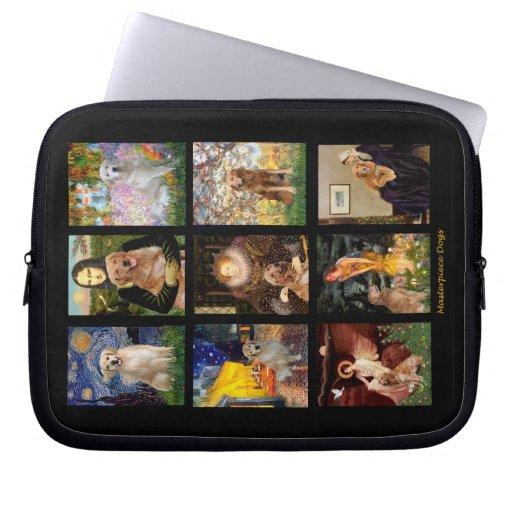 Golden Retriever Masterpieces #1 Laptop Computer Sleeve