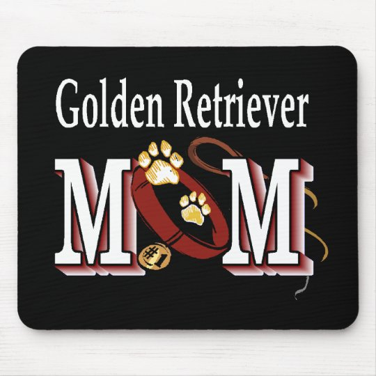 Golden Retriever Mom Gifts Mouse Pad