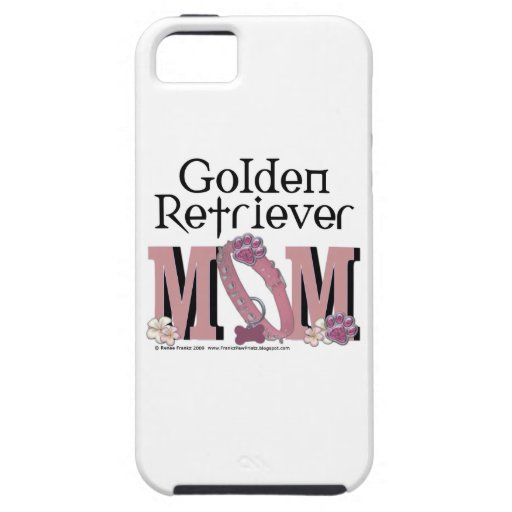 Golden Retriever MOM iPhone 5 Cases