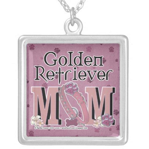 Golden Retriever MOM Necklace