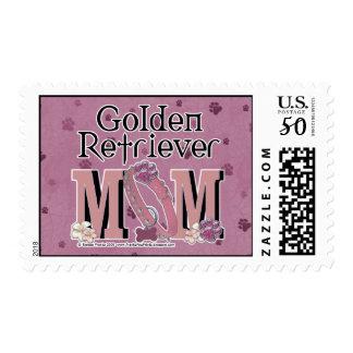 Golden Retriever MOM Postage