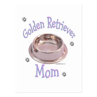 Golden Retriever Mom Postcard