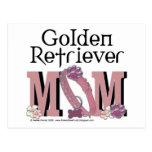 Golden Retriever Mom Postcard