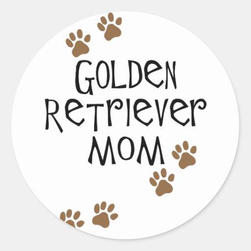 Golden Retriever Mom Sticker