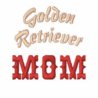 Golden Retriever Mom Text & Paw Print
