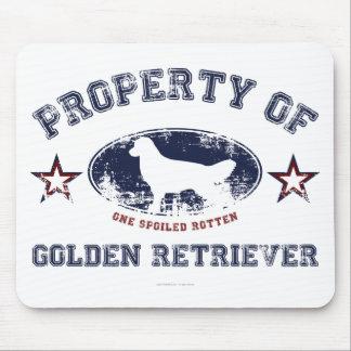 Golden Retriever Mouse Pad