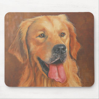 Golden Retriever Mousse Pad Mouse Pad