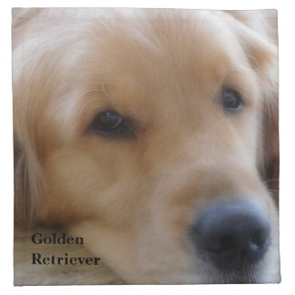 Golden Retriever Napkin