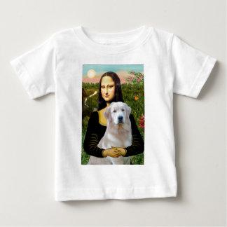 Golden Retriever (Ok13) - Mona Lisa Baby T-Shirt
