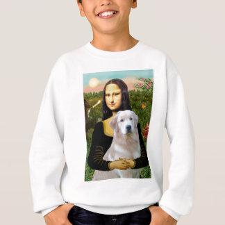 Golden Retriever (Ok13) - Mona Lisa Sweatshirt