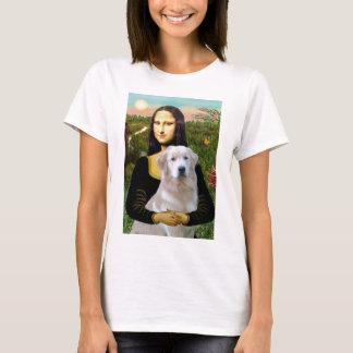 Golden Retriever (Ok13) - Mona Lisa T-Shirt