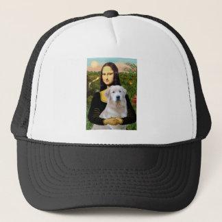 Golden Retriever (Ok13) - Mona Lisa Trucker Hat