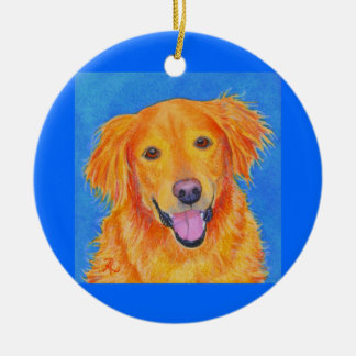"Golden Retriever Ornament #2 - ""Sydney"""