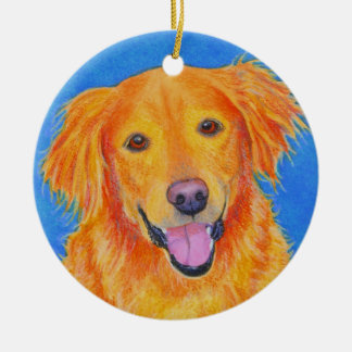"Golden Retriever Ornament - ""Sydney"""