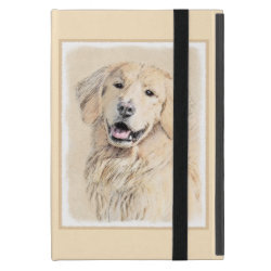 Powis iCase iPad Mini Case with Kickstand with Golden Retriever Phone Cases design