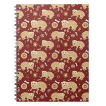 Golden Retriever Pattern Notebook