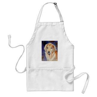 Golden Retriever Pet Portrait Aprons