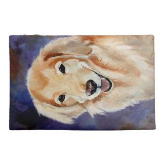 Golden Retriever Pet Portrait Travel Accessory Bag