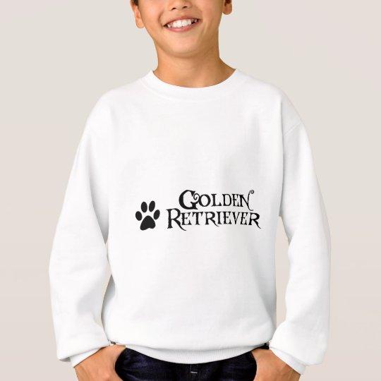 Golden Retriever (pirate style w/ pawprint) Sweatshirt